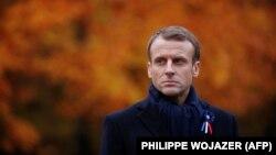 Presidenti francez, Emmanuel Macron.