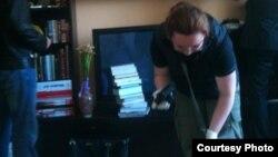 Обыск в квартире Алексея Навального