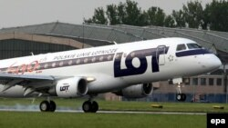 Një aeroplan i kompanisë LOT