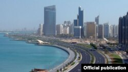 Вид на Абу-Даби.