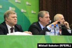 Сергей Митрохин, Сергей Иваненко и Михаил Амосов