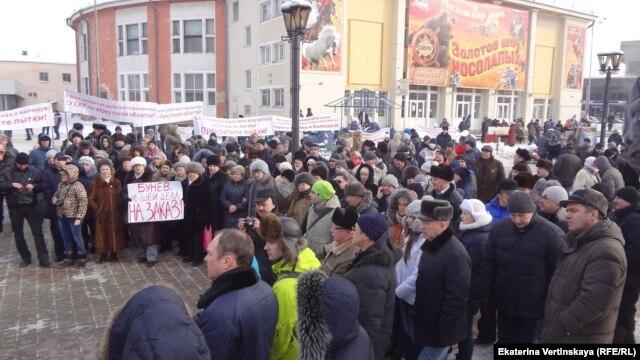 Протестная акция в Иркутске против пыток