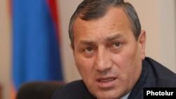 Armenia - Former Syunik Governor Suren Khachatrian.