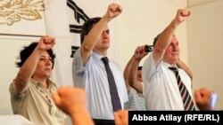Arxiv fotosu: AXCP fəallarının toplantısı