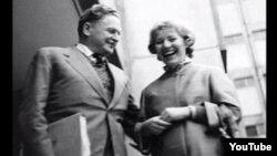 Nazim Hilmət və Vera Tulyakova