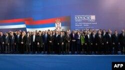 Ministri zemalja učesnica Samita OEBS-a u Beogradu