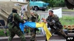Pripadnici Vostok bataljona, Donjeck, 29. maj