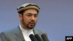 The head of the Afghan High Peace Council, Salahuddin Rabbani