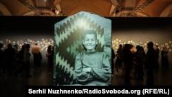 Виставка Параски Плитки-Горицвіт у Мистецькому арсеналі у Києві. 17 жовтня 2019 року
