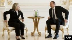 H.Clinton və İ.Əliyev