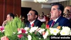 Президент Таджикистана на праздновании Нооруза