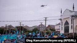 Как отметили 70-ю годовщину депортации крымскотатарского народа в Симферополе