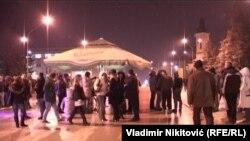 Protest u Gornjem Milanovcu