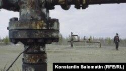 """Кадр из фильма """"Нефть"""" Юлии Вишневецкой и Константина Саломатина"""