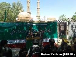 Відзначення Дня перемоги моджахедів в Афганістані. Кабул, 28 квітня 2015 року