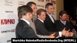 Команда, яка працювала над створенням фільму «Кличко»