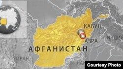 Карта провинции Логар