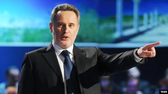 Ukrainian businessman Dmytro Firtash (file photo)