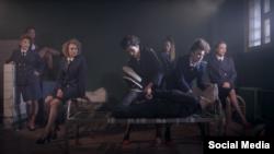 Скриншот из клипа Pussy Riot
