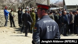 Конфликт на кыргызско-таджикской границе в Баткенской области, апрель 2011 г.