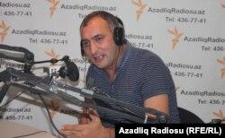 Şərif Ağayar Azadlıq Radiosunda.