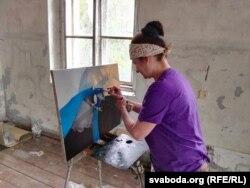 Марта Шматава за працай у Друі