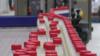 Various of Dairy Bottles Moving on Conveyor Belt At Basra Factory