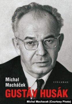 """Обложка книги Михала Махачека """"Густав Гусак"""". На фото - Гусак в 1968 году"""