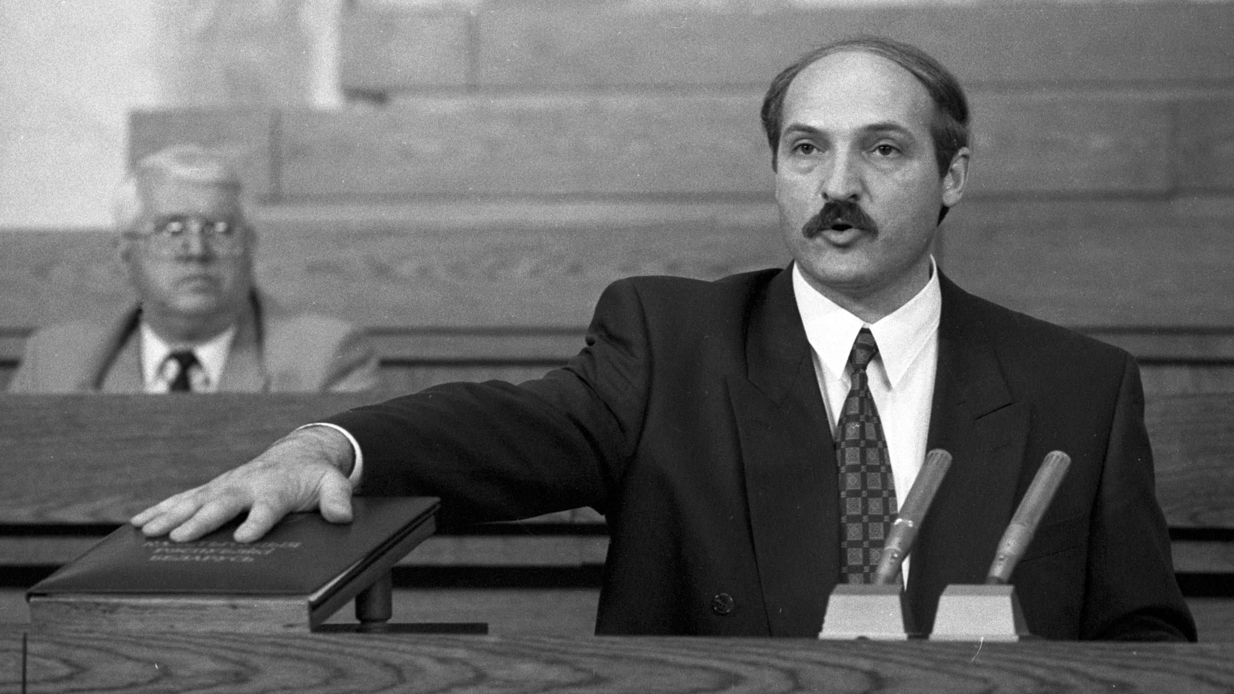 Каго цытаваў Аляксандар Лукашэнка ў сваёй першай інаўгурацыйнай прамове ў 1994 годзе?
