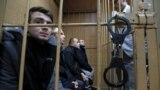 Українські моряки під час суду, Москва, 15 січня 2019 року