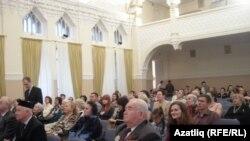Әсадуллаев йортында Татарстан артистлары белән очрашу кичәсе. 23 ноябрь 2010