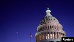 نمایی از کنگره ایالات متحده در واشینگتن
