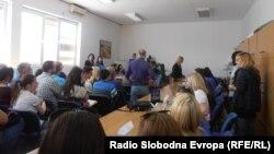 Macedonia - High school students in Kumanovo - N/A