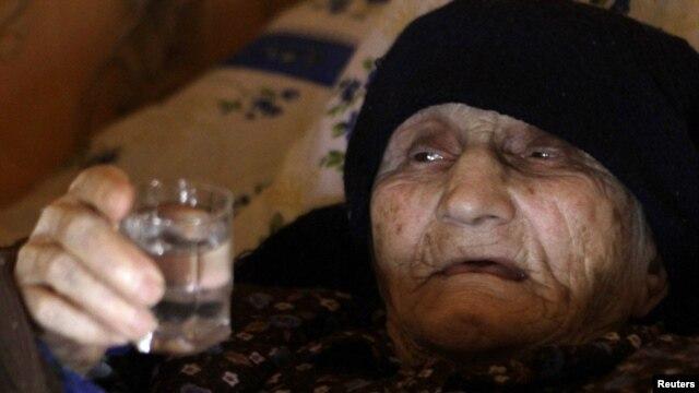 Antisa Khvichava drank brandy every day.