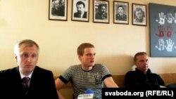 Андрэй Бандарэнка, Мікіта Ліхавід, Павал Сапелка