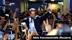 Новоизбраниот премиер Кирјакос Мицотакис.