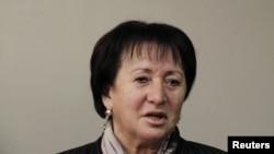 Лидер оппозиции, экс-кандидат в президенты Южной Осетии Алла Джиоева