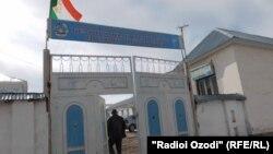 Беморхонаи ноҳияи Шӯрообод. Акс аз бойгонӣ.