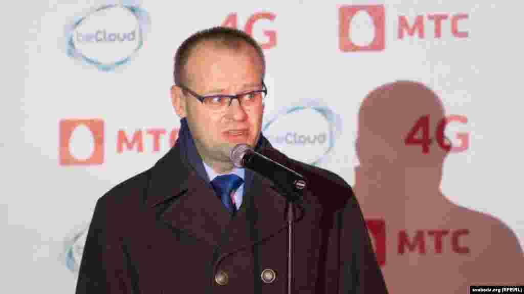 Гендырэктар уладальніка сеткі LTE кампаніі Becloud Сяргей Паблагуеў