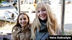 Svetlana și fiica sa Margarita
