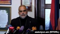 Лидер партии «Наследие» Раффи Ованнисян (архив)