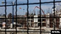 Ilustrim me pamje nga Shkupi...