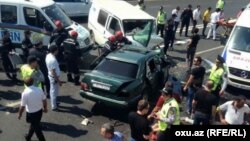 На проспекте Гейдара Алиева произошло ДТП