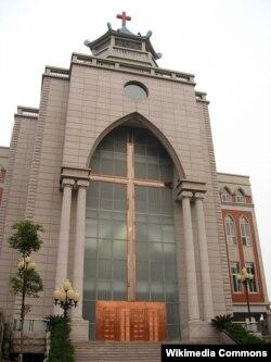 Христианский храм в провинции Фуцзянь