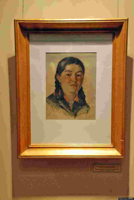 Портрет «Девушка-казашка», написанный Леонидом Брюммером в 1944 году в Павлодаре. По словам представителя историко-краеведческого музея Тараза Эльмы Дильдебаевой, эту работу неофициально называют «Казахская Джоконда».