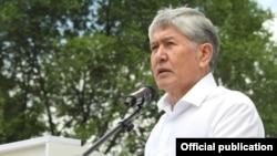 Бывший президент Алмазбек Атамбаев.