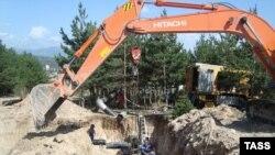 ძუარიკაუ-ცხინვალის გაზსადენს მშენებლობა