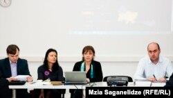 შეხვედრა ევროპული ინტეგრაციის ინდექსის გამოკვლევის თანაავტორებთან