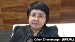 Зауреш Батталова, руководитель общественной организации «Фонд развития парламентаризма в Казахстане».
