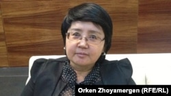 Зауреш Батталова, бывший депутат сената парламента, руководитель «Фонда развития парламентаризма в Казахстане».